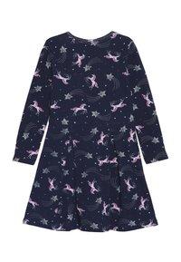 happy girls - PFERDE - Jersey dress - navy - 1