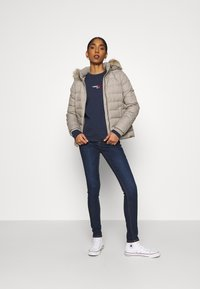 Tommy Jeans - BASIC - Down jacket - mourning dove - 1