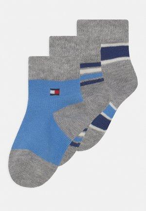 BABY NEWBORN STRIPE GIFTBOX 3 PACK UNISEX - Sokken - blue