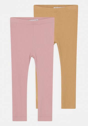 NBFKABEX 2 PACK - Leggings - Trousers - curry