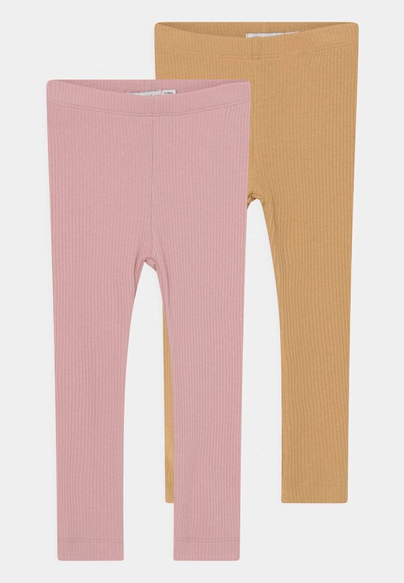 Name it - NBFKABEX 2 PACK - Leggings - Trousers - curry