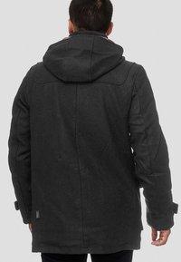 INDICODE JEANS - ERVIN - Short coat - charcoal mix - 2