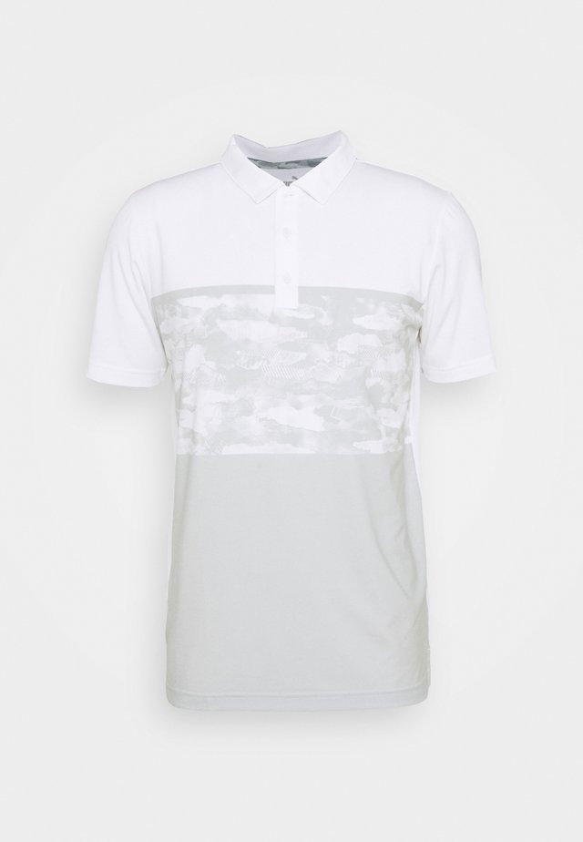 CAMOBLOCK - Poloskjorter - bright white