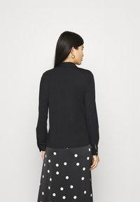 comma - LANGARM - Button-down blouse - black - 2