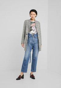 Pinko - TARAH SUPER HIGH RISE  - Straight leg jeans - blu indaco - 1