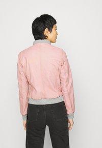 Gipsy - MOXI LULV - Leather jacket - rose - 3