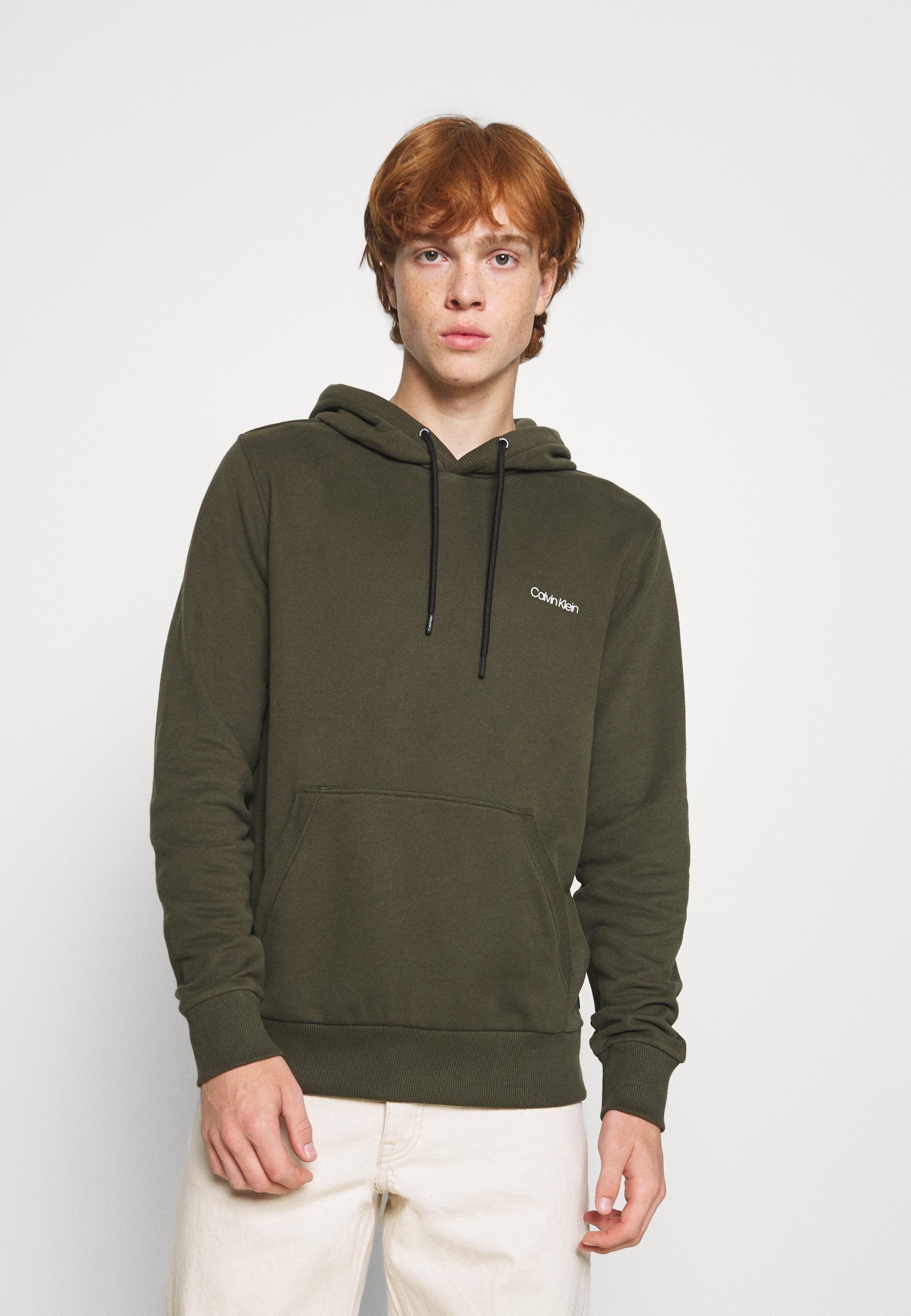 Homme SMALL CHEST LOGO HOODIE - Sweat à capuche