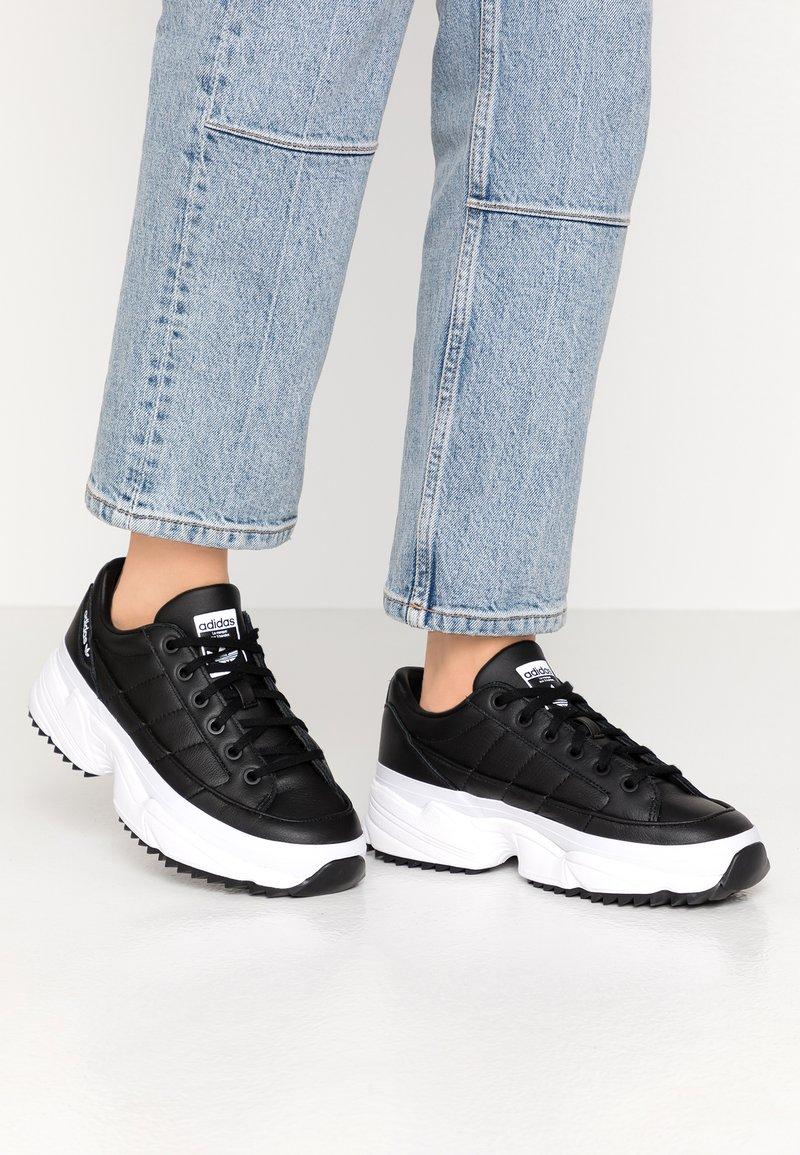 adidas Originals - KIELLOR - Sneakersy niskie - core black/footwear white