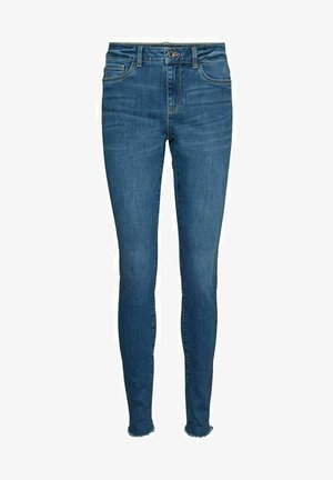 SLIM FIT VMSEVEN - Slim fit jeans - medium blue denim