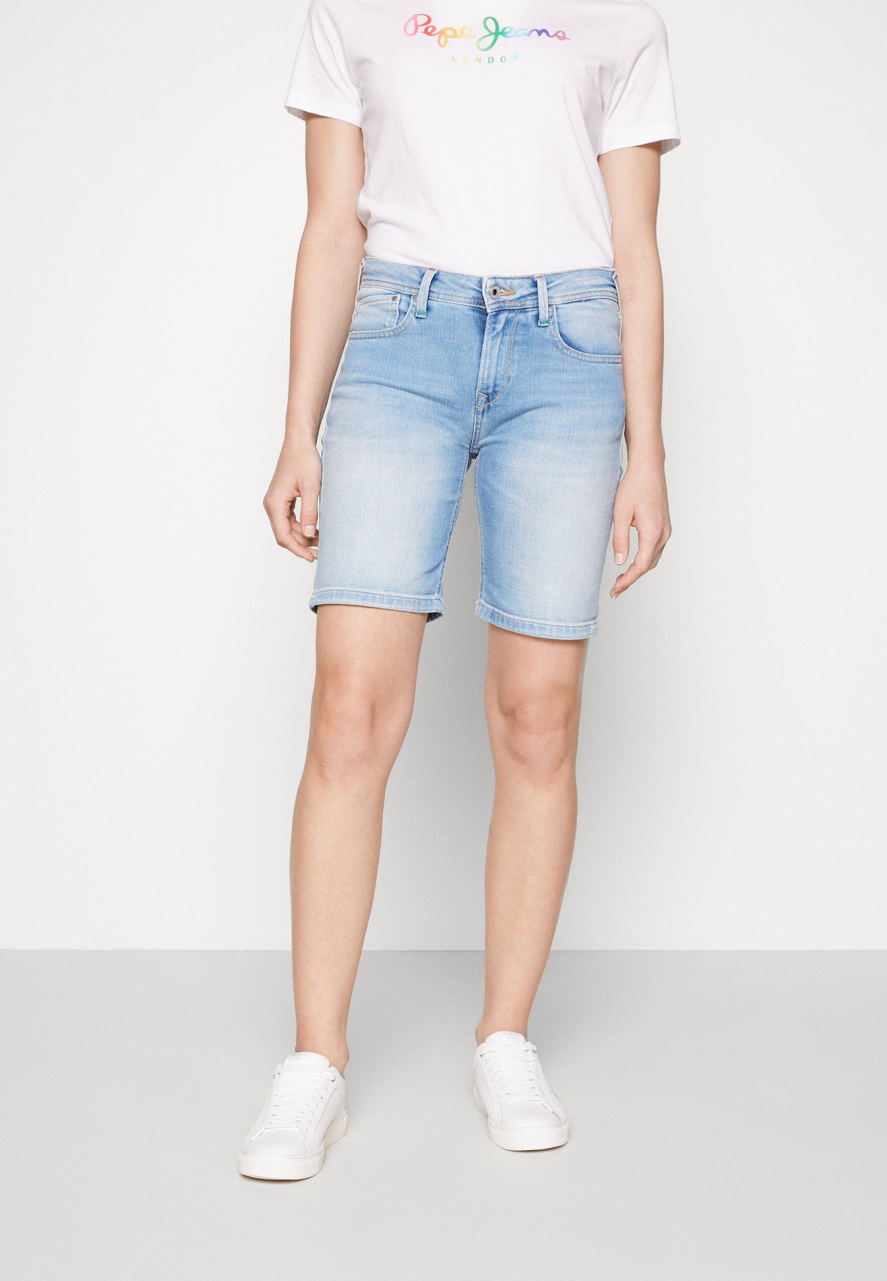 Damer POPPY SHORT PRIDE - Jeans Short / cowboy shorts
