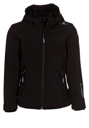 GIRL FIX HOOD - Soft shell jacket - nero