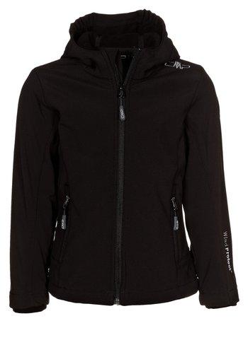 FIX HOOD - Soft shell jacket - nero