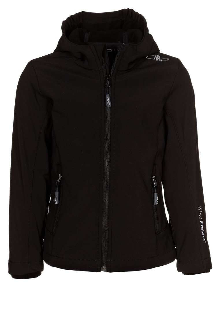 CMP - FIX HOOD - Soft shell jacket - nero