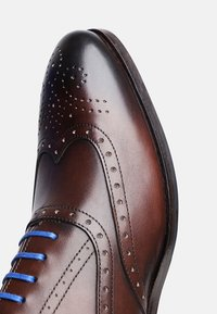 SHOEPASSION - NO. 5570 BL - Smart lace-ups - dark brown - 5