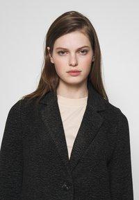 Vero Moda - Halflange jas - dark grey melange - 3
