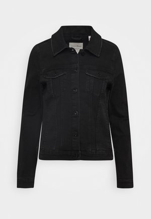 RIDERS JACKET - Denim jacket - used dark stone black