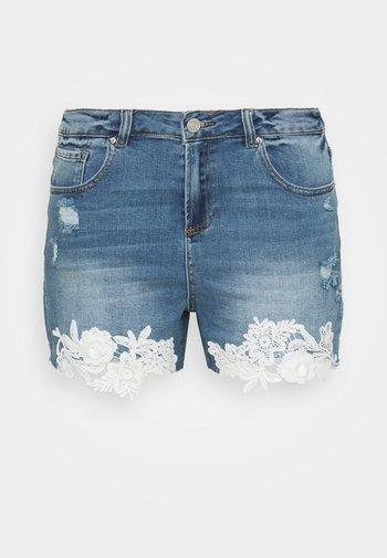 Denim shorts - vintage indigo