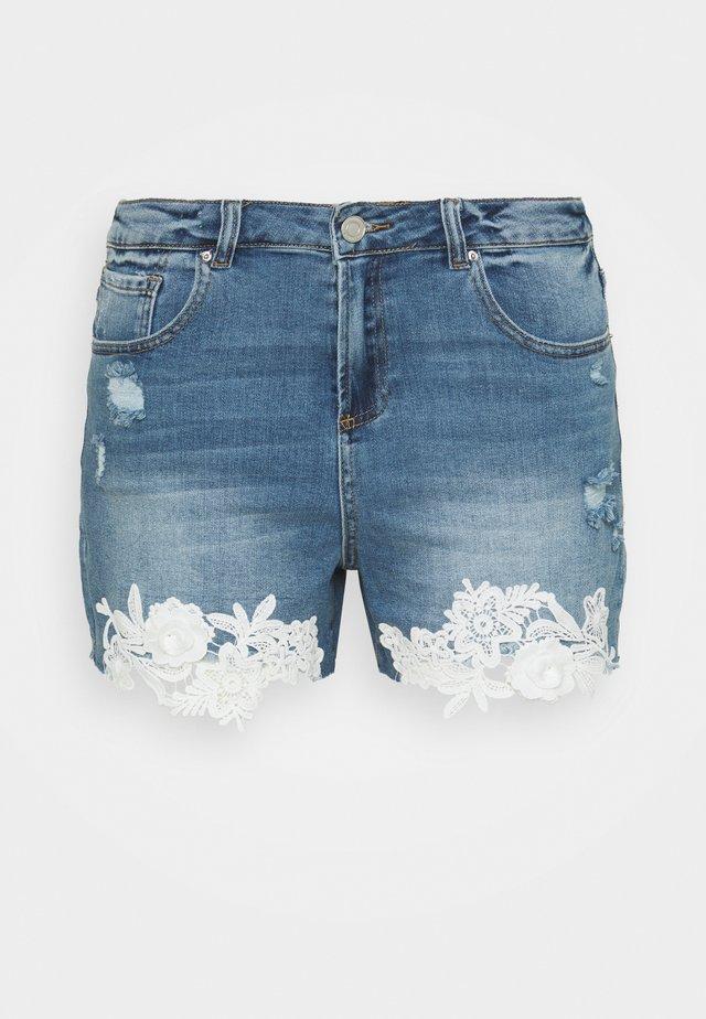 Shorts di jeans - vintage indigo