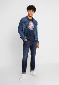 Paddock's - PINT - T-shirt print - navy - 1