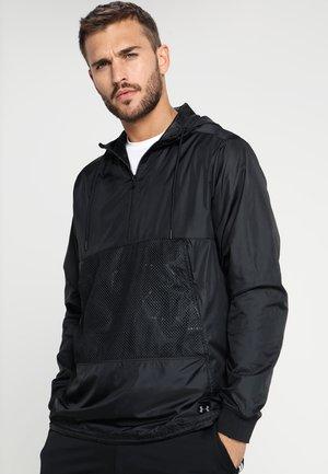 SPORTSTYLE LONGLINE ANORAK - Training jacket - black