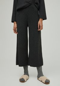PULL&BEAR - Trousers - dark grey - 0