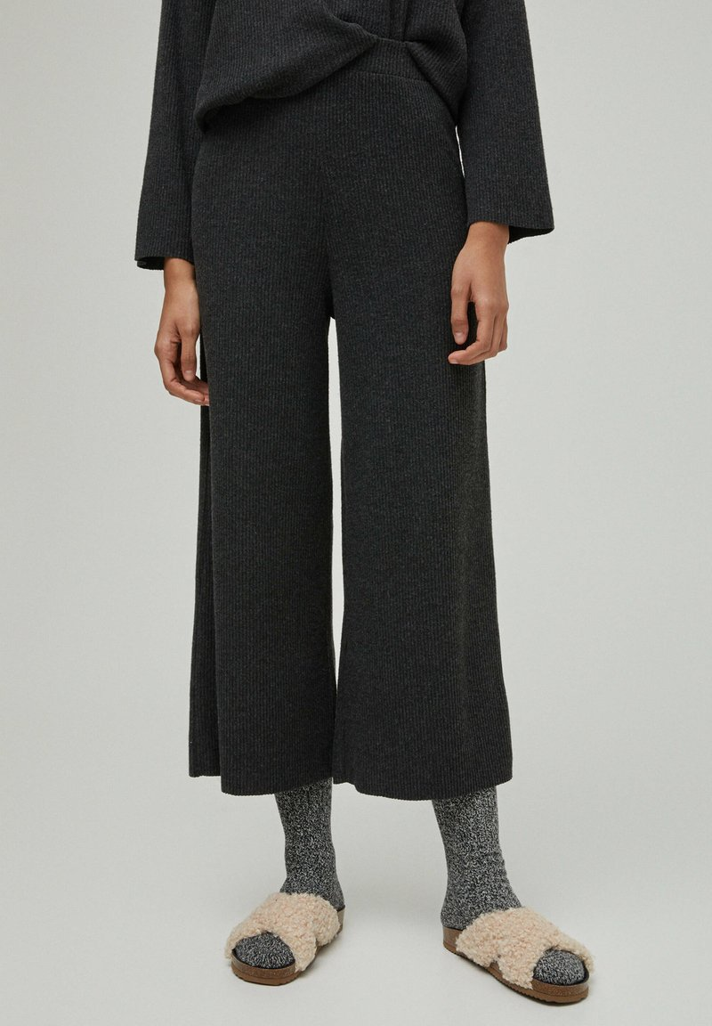 PULL&BEAR - Trousers - dark grey