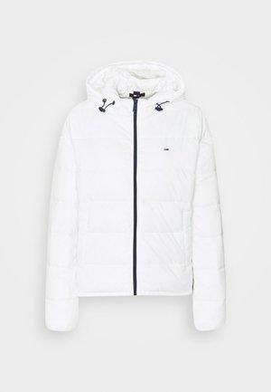SIDE SLIT JACKET - Light jacket - white