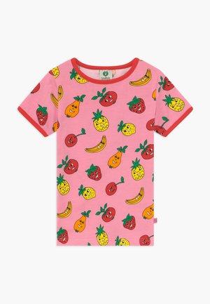 FRUITS - T-shirt print - sea pink