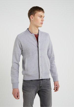 JASPER  STRUCTURE - Mikina na zip - grey melange