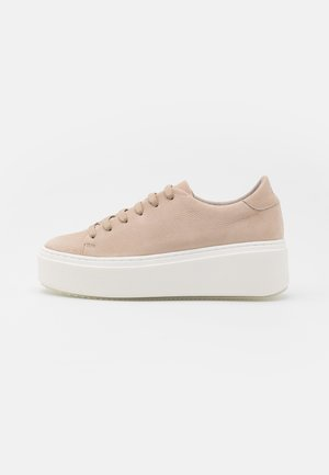 Trainers - taupe