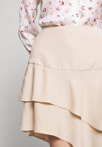 Bruuns Bazaar - LAERA DOLPHINE SKIRT - A-line skirt - sand - 6