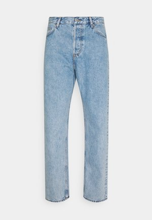 BARREL - Jean boyfriend - pen blue