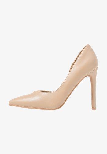 PIETRA - Zapatos altos - nude