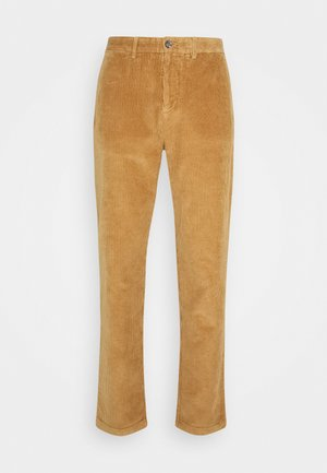 TAPERED  - Trousers - brown
