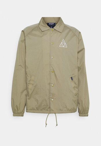 ESSENTIALS COACHES JACKET - Summer jacket - stone