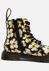 Dr. Martens - PASCAL - Lace-up ankle boots - black/yellow - 6