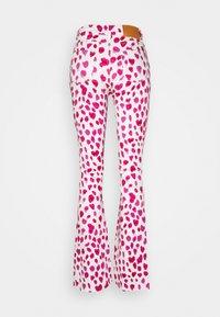Fabienne Chapot - EVA FLARE TROUSERS - Flared Jeans - happy leopard - 8