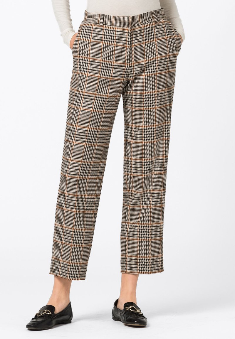 HALLHUBER - A PRINCE OF WALE - Trousers - multi-coloured