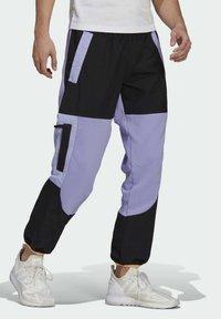 adidas Originals - ADV BLK PNT ADVENTURE ORIGINALS REGULAR TRACK PANTS - Träningsbyxor - purple - 2