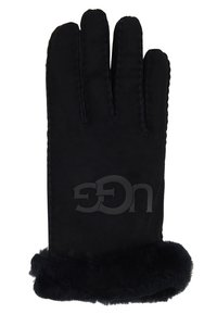 UGG - LOGO GLOVE - Rukavice - black - 1