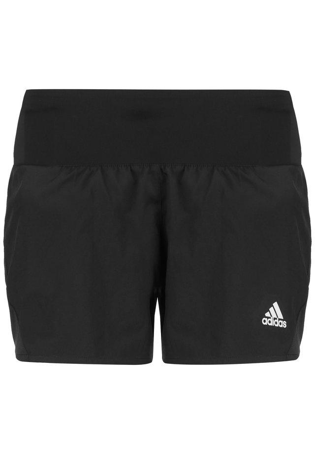 RUN IT 3 STRIPES RESPONSE SHORTS RUNNING - Sports shorts - black