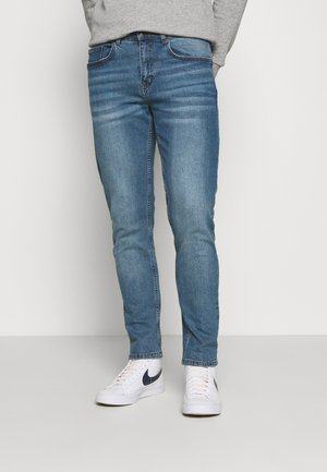 NEPARIS BLUE TINTED JEANS UNISEX - Jeans Tapered Fit - blue