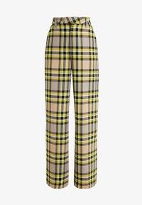 LYN - Trousers - lemon peel
