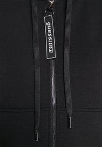 Guess - AKILAH ZIPPED  - veste en sweat zippée - jet black - 6