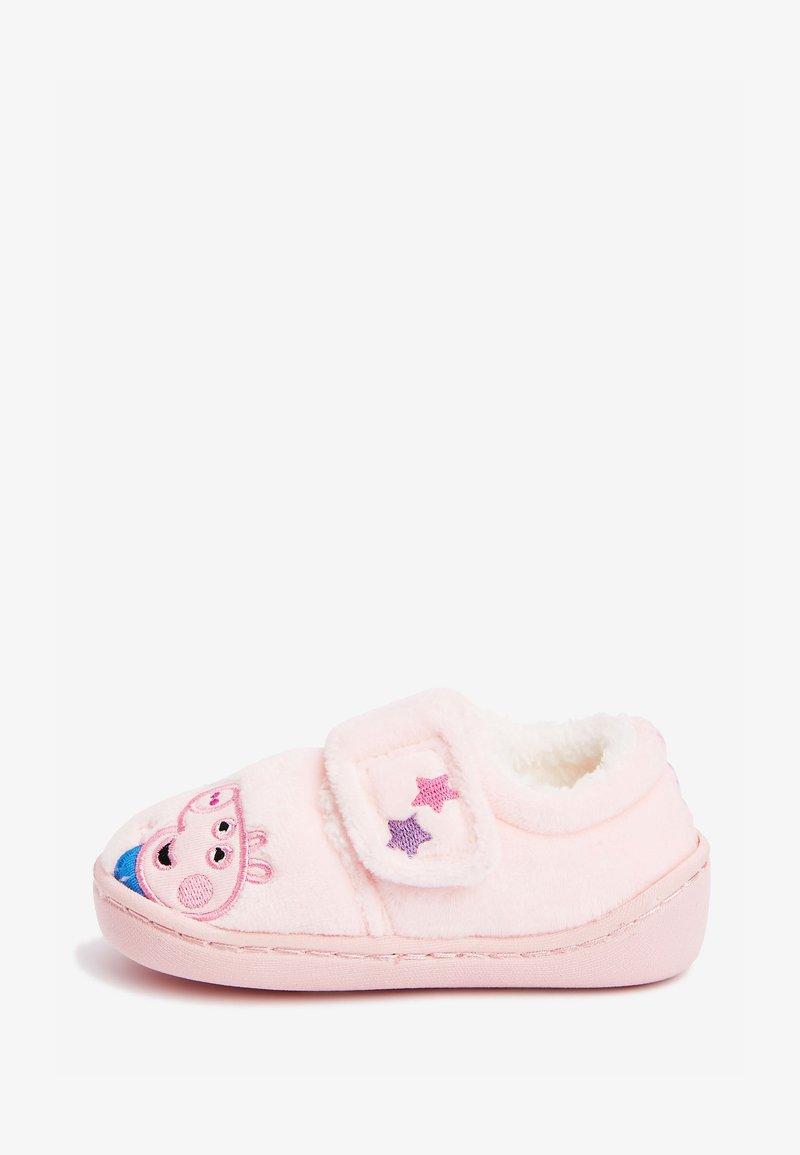 Next - PEPPA PIG CUPSOLE SLIPPERS - Domácí obuv - pink