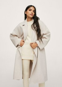 Mango - Classic coat - steenkleur - 0