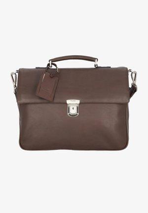 AUTHENTIC  - Briefcase - cafe