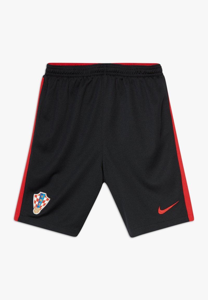 Nike Performance - KROATIEN CRO Y NK BRT STAD HA - Sports shorts - black/university red
