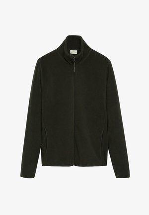 FLUFFY - Fleece jacket - khaki