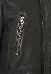 Gipsy - GBESMOND - Leather jacket - black - 6